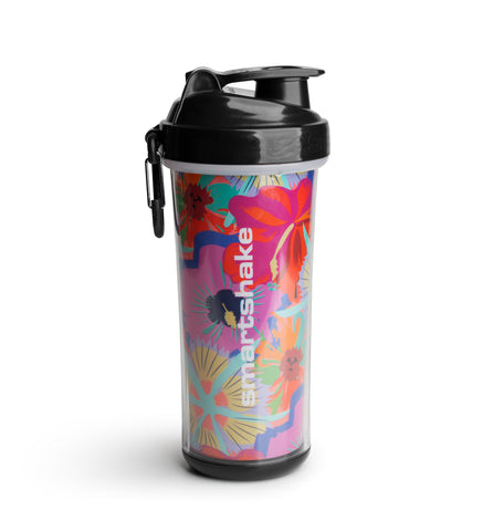 SmartShake Double Wall Shaker Cup - Flower Power