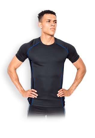 USN Mens Performance T-Shirt - Black