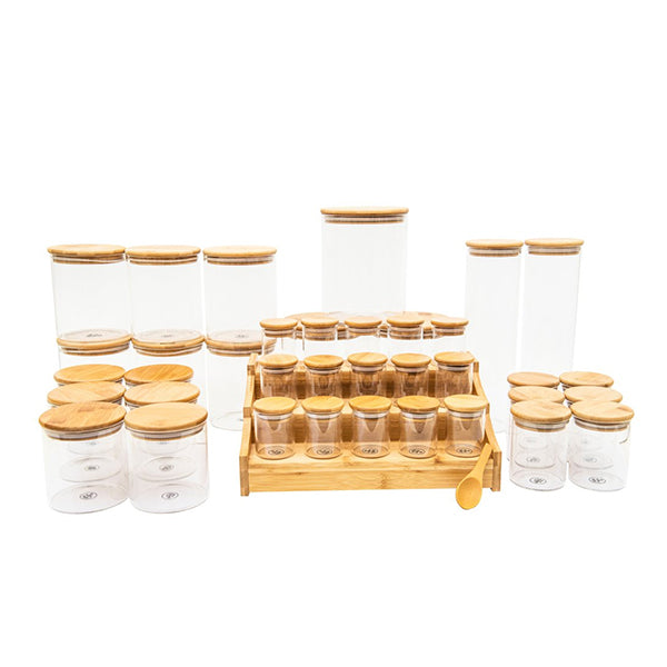 Bamboo Glass Deluxe Pack-RESTOCK EARLY AUG