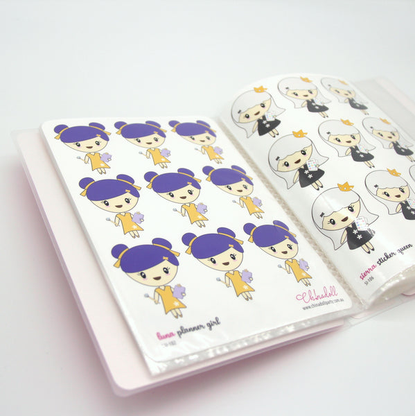ivy | custom sticker album - large | WI-901