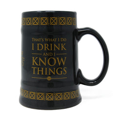 Drink &  Know Things | Game Of Thrones Mug | GalaxT