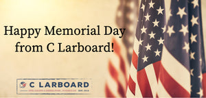 Happy Memorial Day from C Larboard!