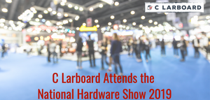C Larboard attends the National Hardware Show 2019