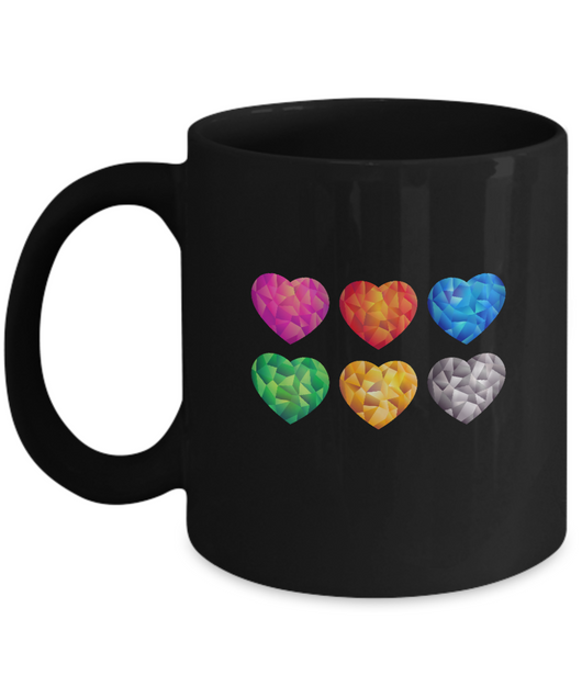Heart Colors - Coffee Mug - Uncle Seal