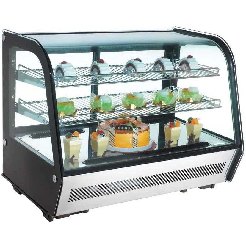"Commercial Countertop Refrigerated Display Case 35"" - AT Faucet Bar & Restaurant Equipment New Jersey"