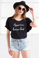 oversized cotton aquarius tee from love by luna