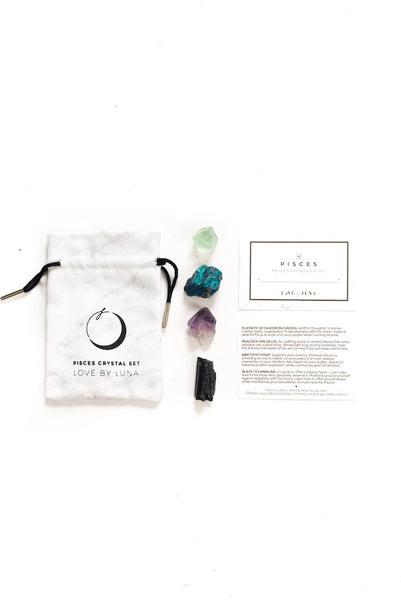 Pisces Crystal Set - NEW