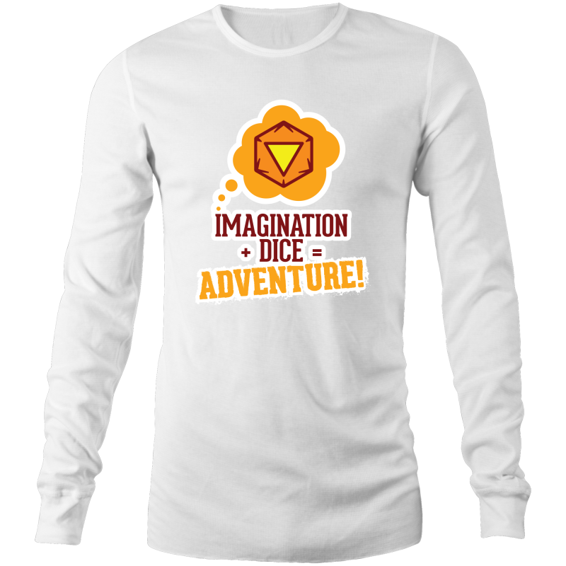 Imagination Dice Adventure - Long Sleeve Shirt - Imaginary Adventures