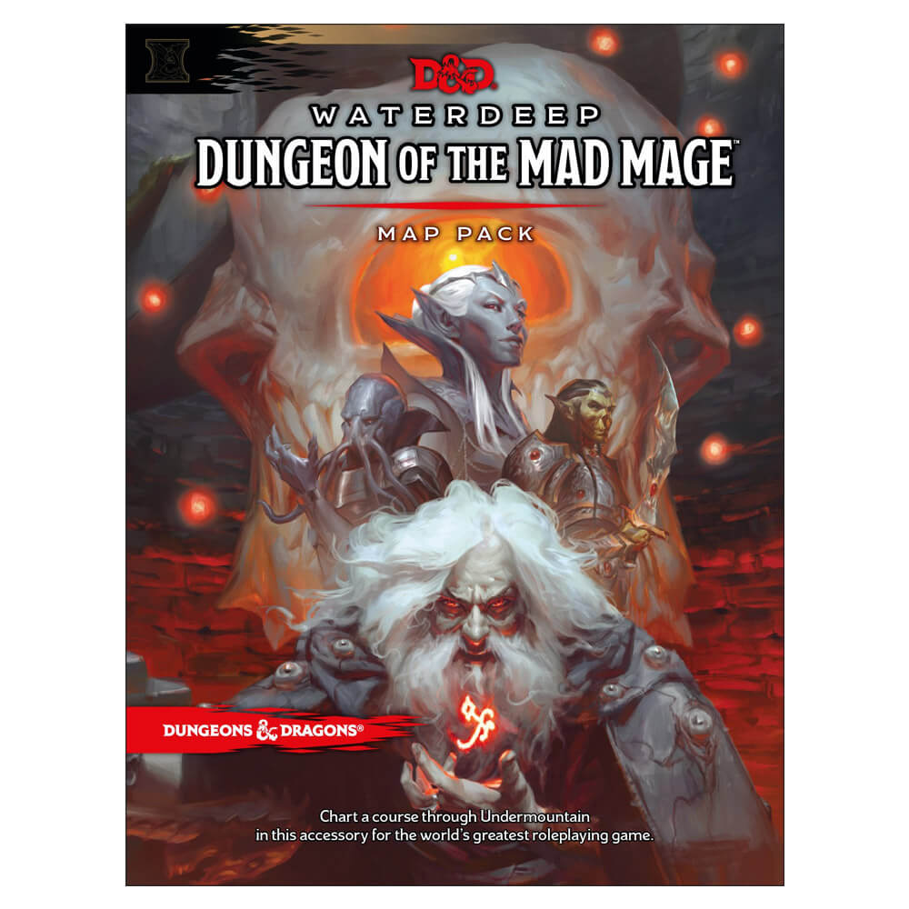 Dungeons & Dragons Waterdeep Dungeon of the Mad Mage Map Pack - Imaginary Adventures