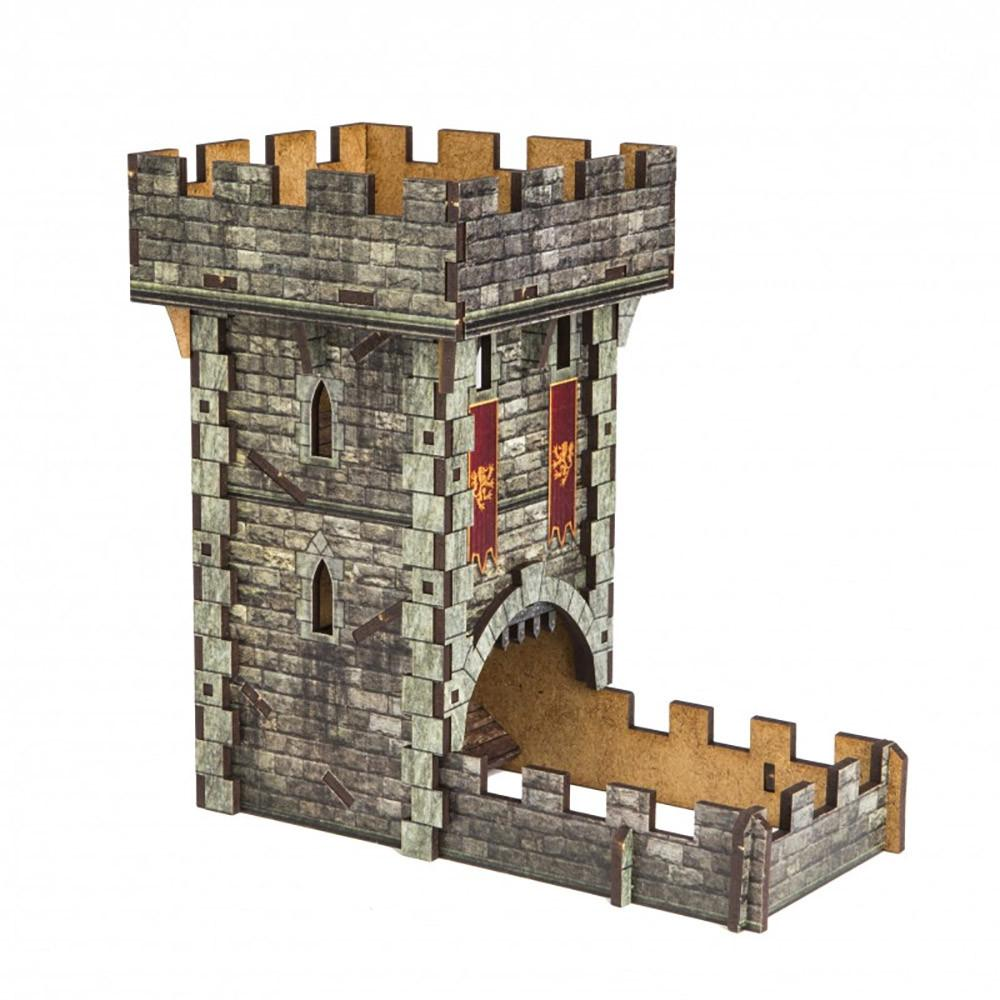 Q-Workshop Medieval Colour Dice Tower - Imaginary Adventures