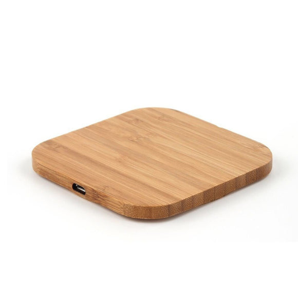 Wood Wireless charging pad