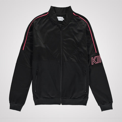King Apparel Earlham Tracksuit Jacket - Black