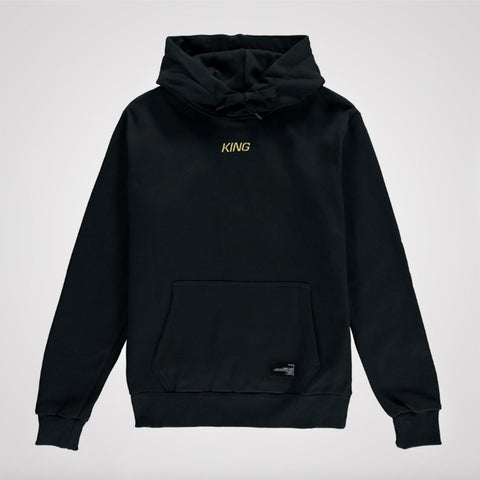 King Apparel Defy Hoodie - Black
