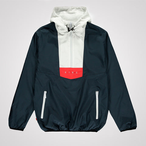 King Apparel Aldgate Windrunner Jacket - Ink