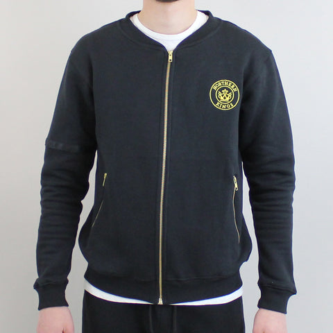 Northern Kings Zip Top - Black