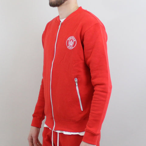 Northern Kings Zip Top - Red