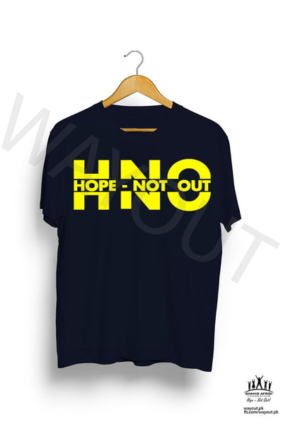 Hope Not Out by SAF Mangata T-Shirt - Navy Blue