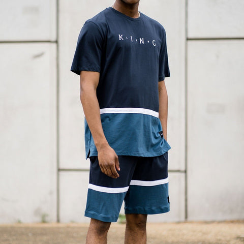 King Apparel Aldgate Summer Trackset - Ink