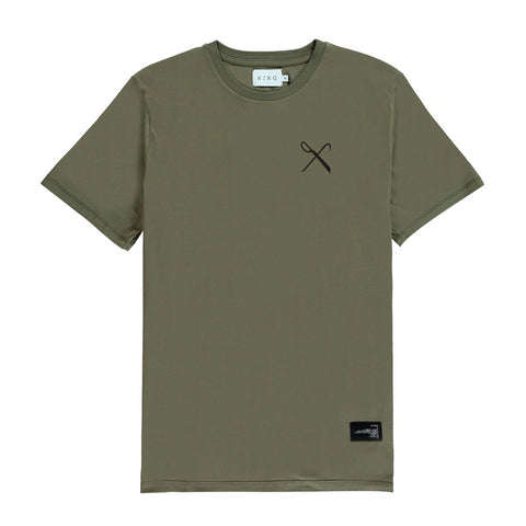 King Apparel Hard Graft T-Shirt - Fern
