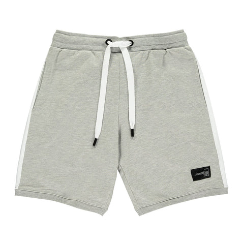 King Apparel Leyton Summer Trackset Shorts - Stone