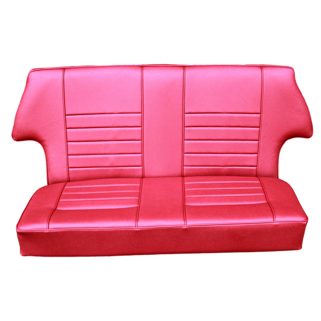 LEATHER SUFFOLK SALOON REAR SEAT COVER
