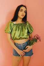Molly Satin Crop Top