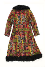 Acid Trip 1960s Tapestry Coat (Size XS)