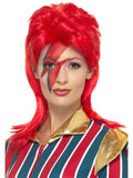 Space Superstar Wig, Red