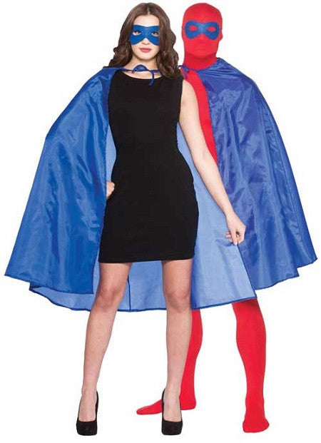 Super Hero Cape With Mask, Blue