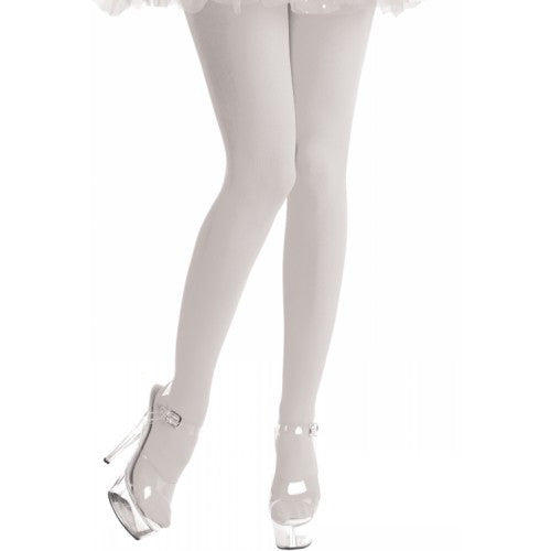 Tights, Opaque, White