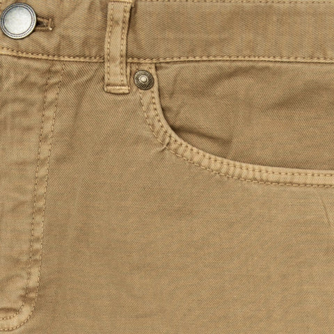 The Sand Franklin 5 Pocket Washed Twill Pant | Ledbury Men's Pants
