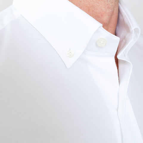 The White Mayfield Oxford Casual Shirt