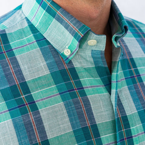 The Leaf Briar Plaid Casual Shirt