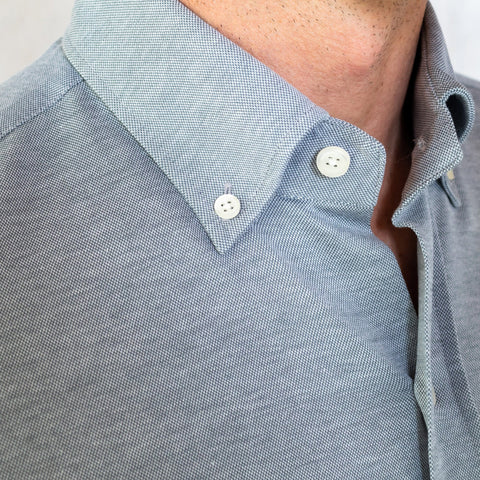 The Grey Barksdale Knit Shirt