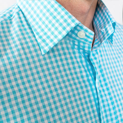 The Aqua McAdam Gingham Dress Shirt