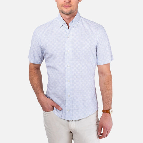 The Short Sleeve Tamarack Stripe Casual Shirt