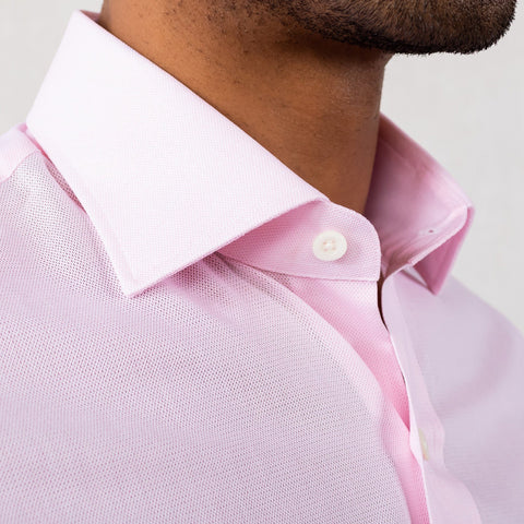 The Pink Airtex Dress Shirt