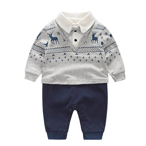 Newborn Gentleman Jumpsuit