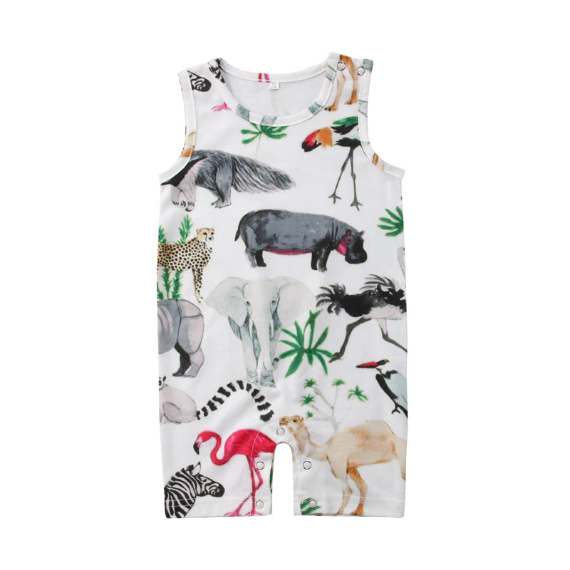 'Animal Kingdom' Summer Jumpsuit