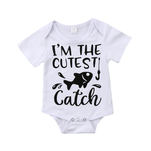 'Cutest Catch' Onesie