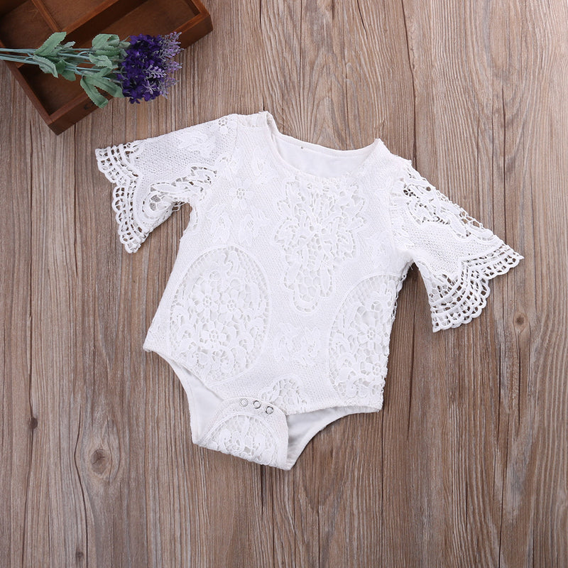 Princess Lace Romper