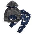 2 piece 'Winter Deer' Hoody Outfit