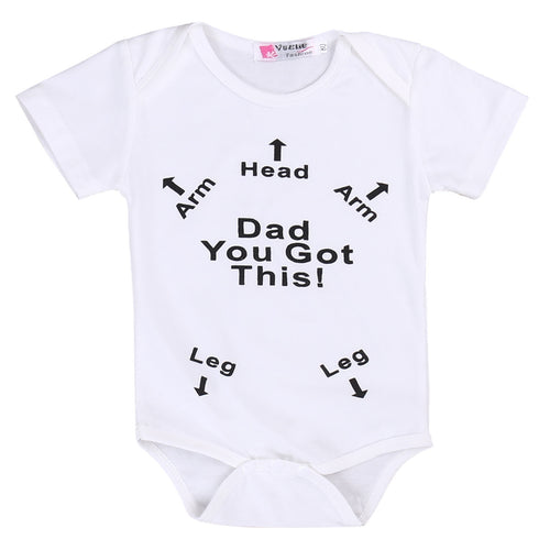 'Dad You Got This' Onesie