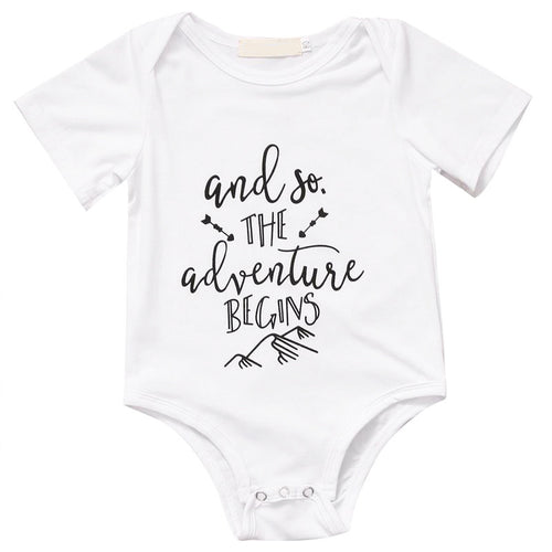 'And so the Adventure Begins' Onesie
