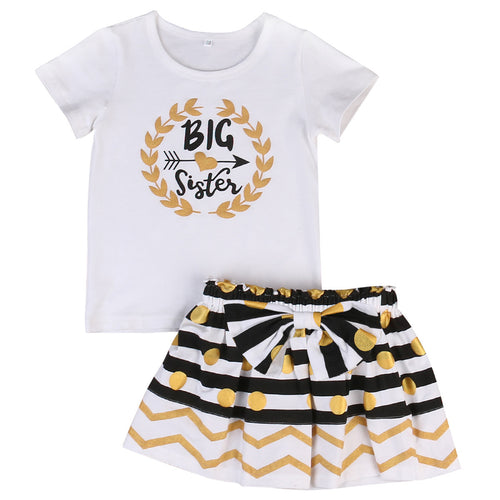 2 piece 'Big Sister' Outfit