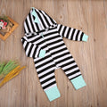 Striped 'Dinosaur' Jumpsuit