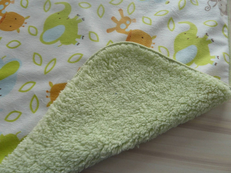 Double Layer Fleece Baby Blanket