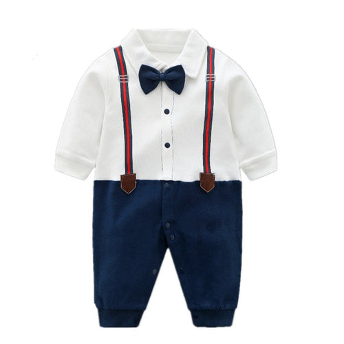 Gentleman Suspender Jumpsuit