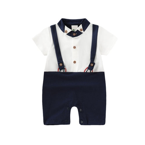 'Little Stud' Suspender Summer Jumpsuit