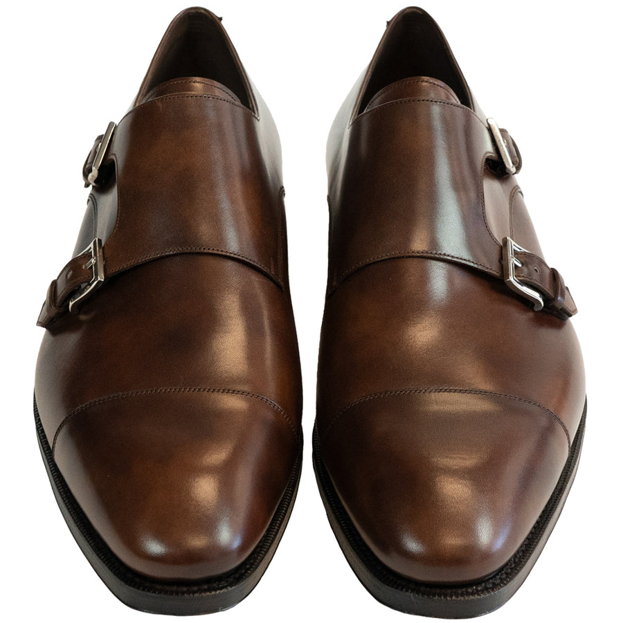 Carmina Brown Double Monk Strap - 80544